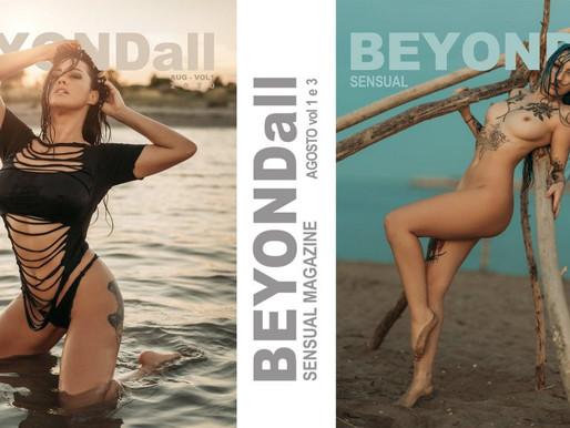 In copertina su BEYONDall Agosto 2020 vol 1 e 3