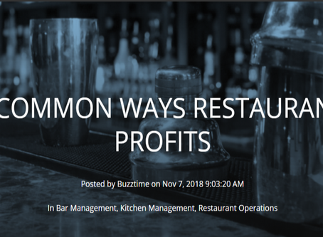 5 Most Common Ways Restaurants Lose Profits
