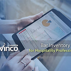 Bar Inventory has never been easier