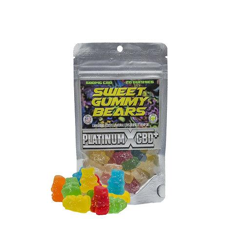 Sweet Gummy Bears Platinum X CBD