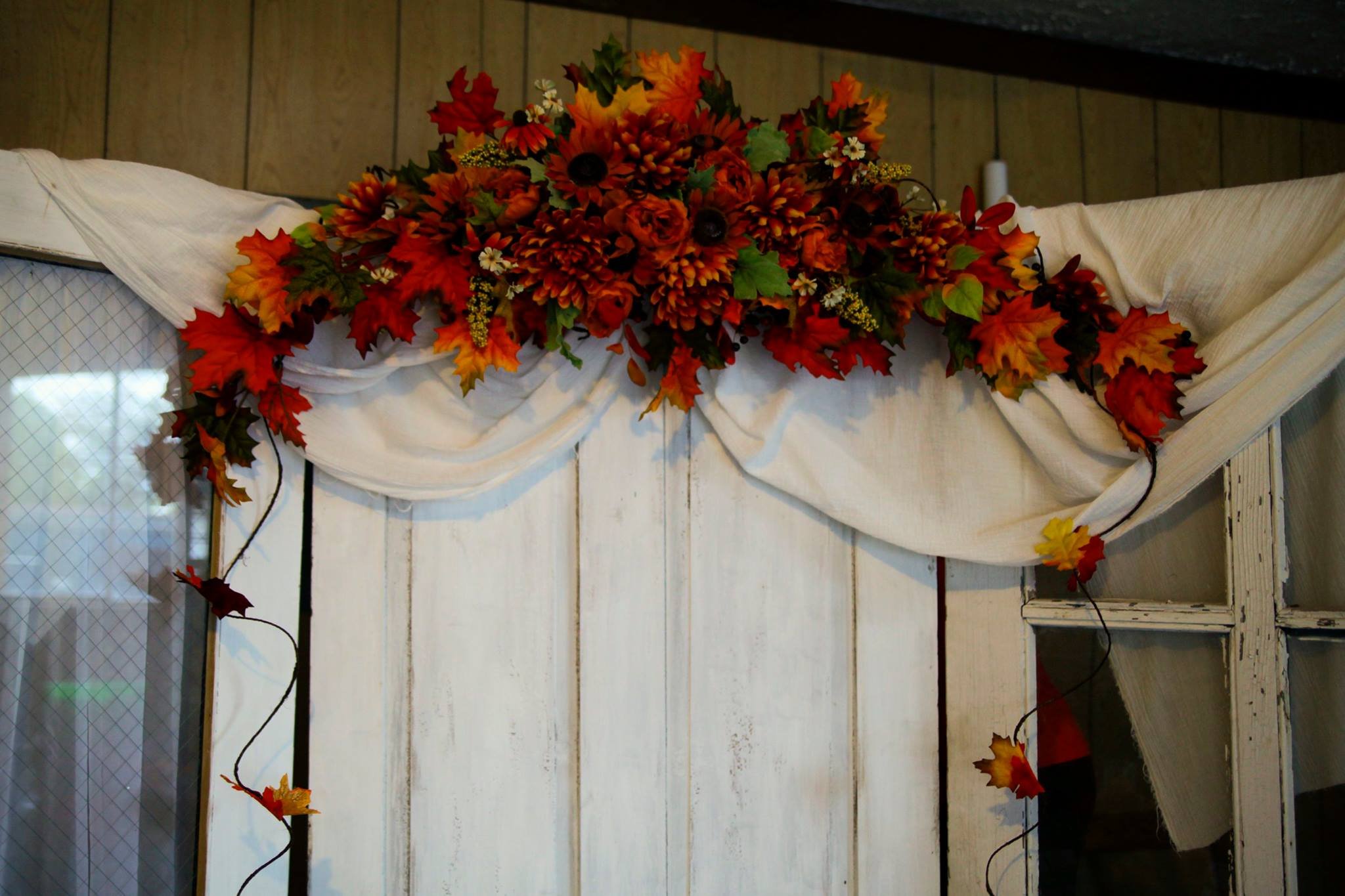 Fall Door/Arch Swag
