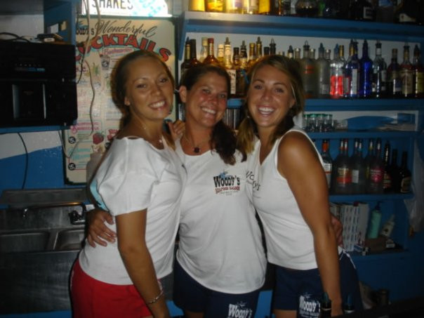 St. John USVI Bartenders Woody's Seafood Saloon
