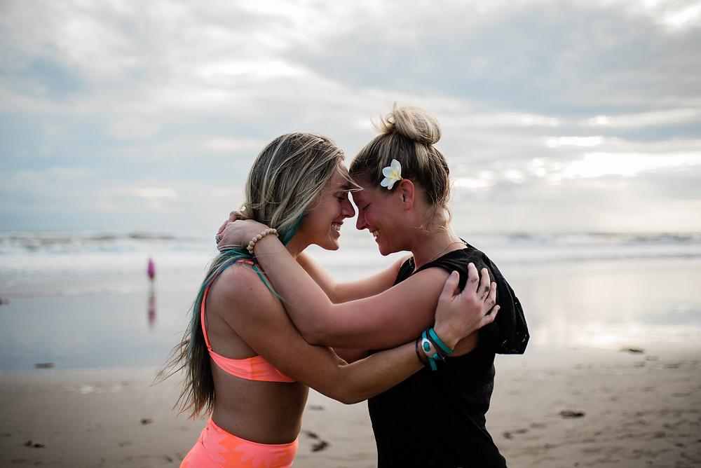 Yoga Retreat Friendship Bali Beach Photography