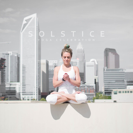 Summer Solstice Yoga Celebration + TIME'S UP Fundraiser
