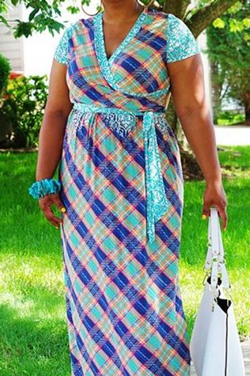 The Nabila Maxi Dress