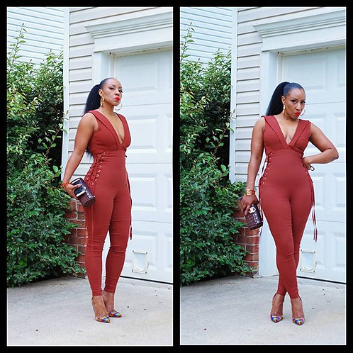 The Pefect Catsuit -TAN COLOR ONLY