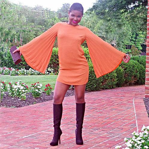 The 60s Vibe Mini Dress