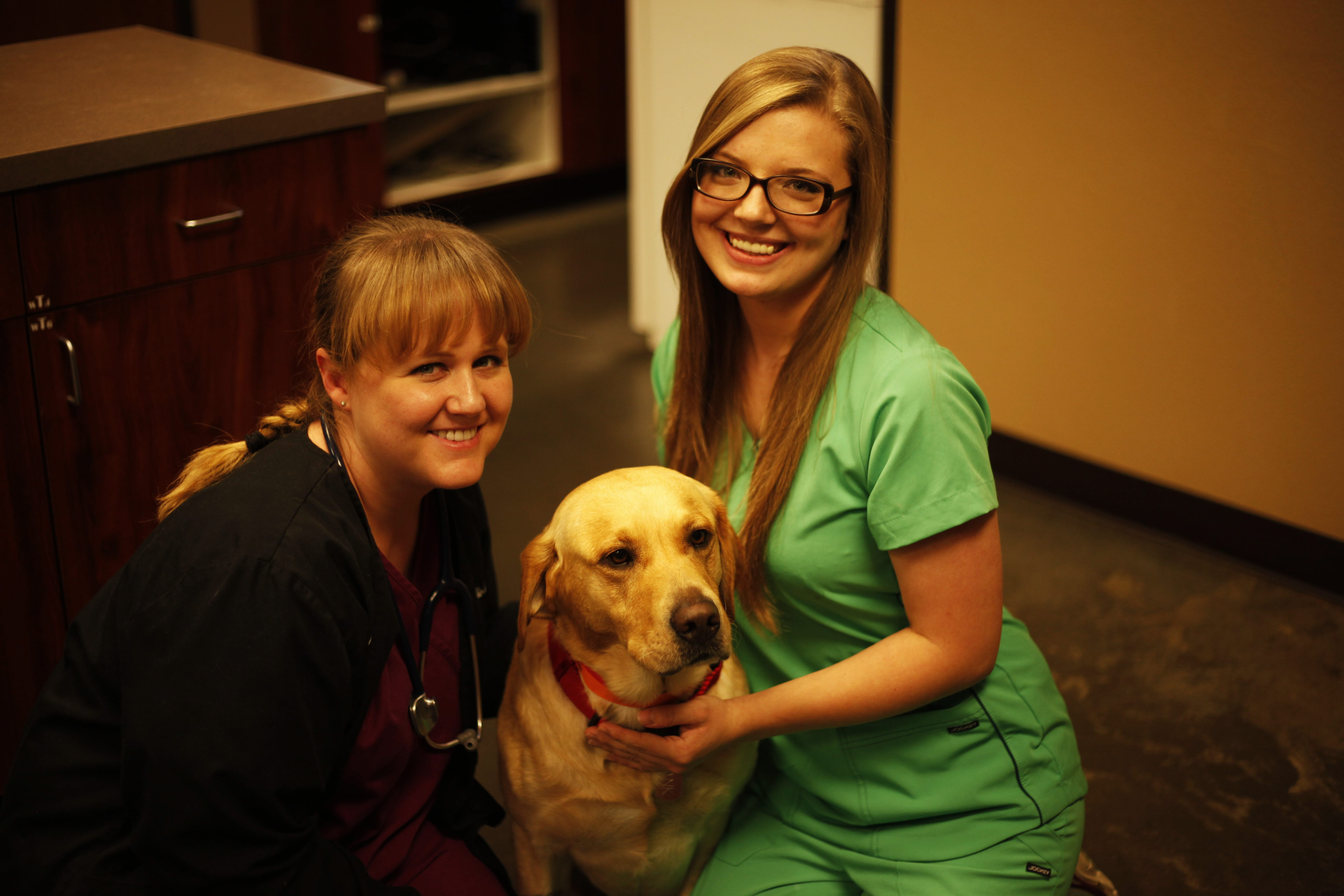 Dr. Dodson and Kenzie