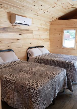 Cabin Full Beds