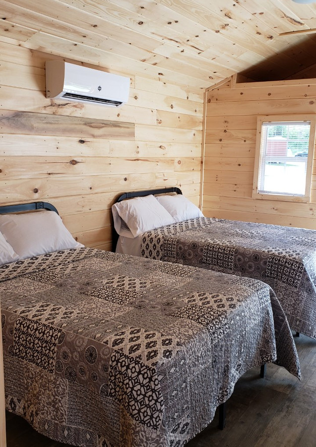 Cabin Full Beds