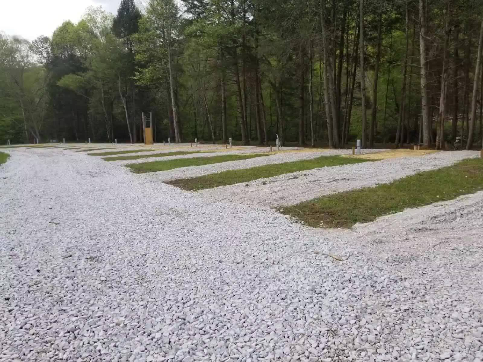 Construction Update 5- It's beginning to look more like a campground than a construction zone! We are very excited. Opening Memorial Day-Give us a call to book your stay!