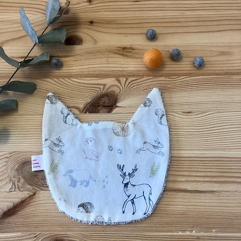 Le Doudou plat Chat (8 tissus au choix)