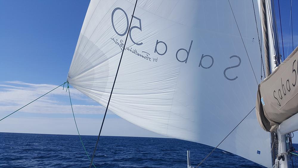 "Saba 50 Catamaran ""Lady Roslyn"". Sailing to Venice, Italy"