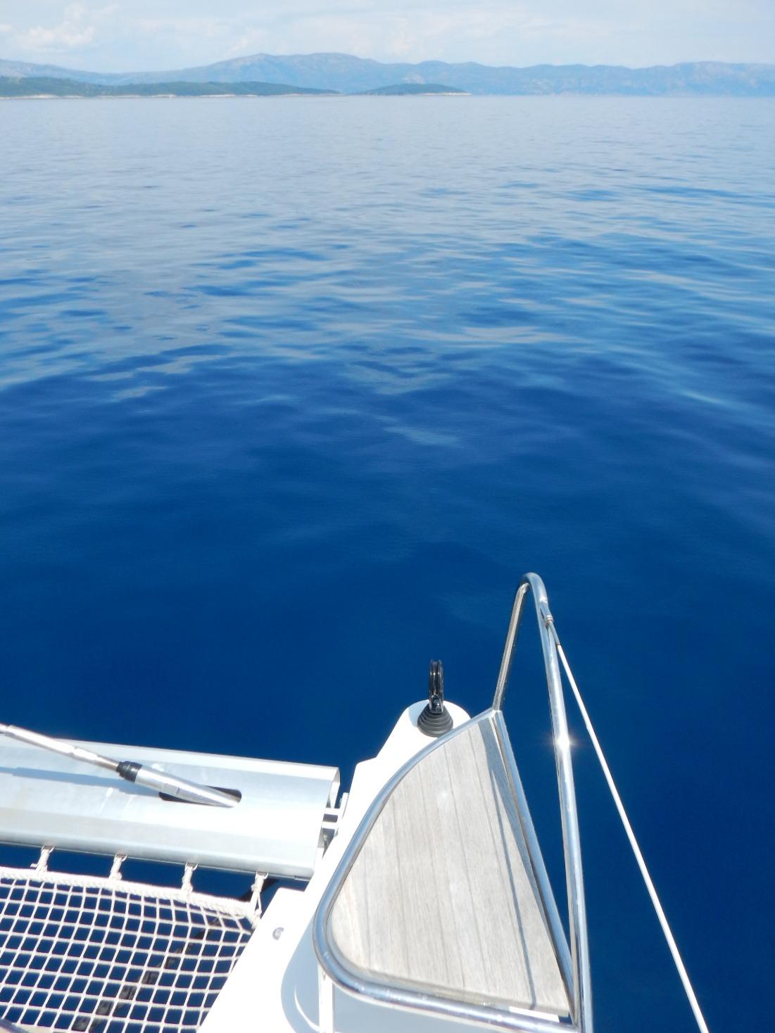 Croatia flat seas