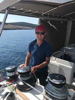 Nic sail trimming, Croatia