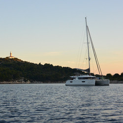 Croatia Lastovo sunset