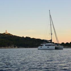 Croatia Lastovo sunset