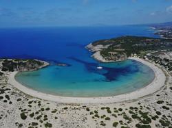 Daytime anchorage, Voidokilia, Greece