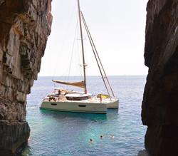 Croatia sea cave