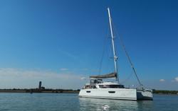 Anchored off Torcello Island, Venice