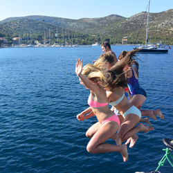 Croatia Lastovo happy days