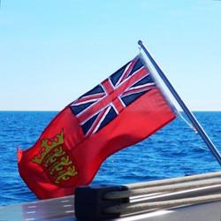 Jersey registration flag