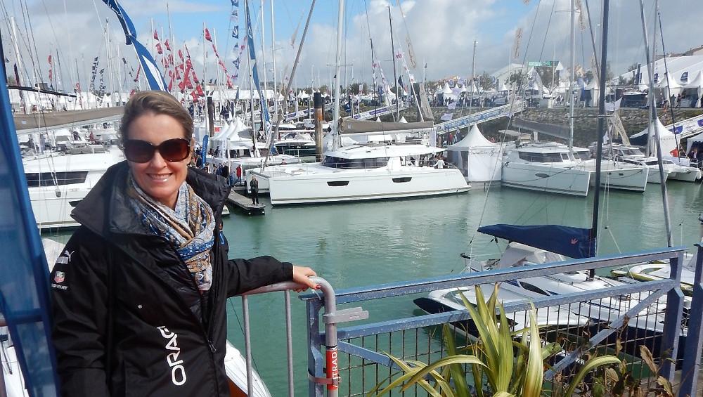 """Saba 50 Catamaran """"Lady Roslyn"""". La Rochelle Boat Show"""