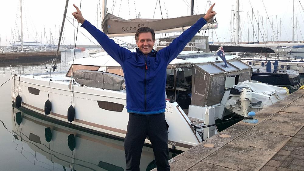 "Saba 50 Catamaran ""Lady Roslyn"". Happy buyer"