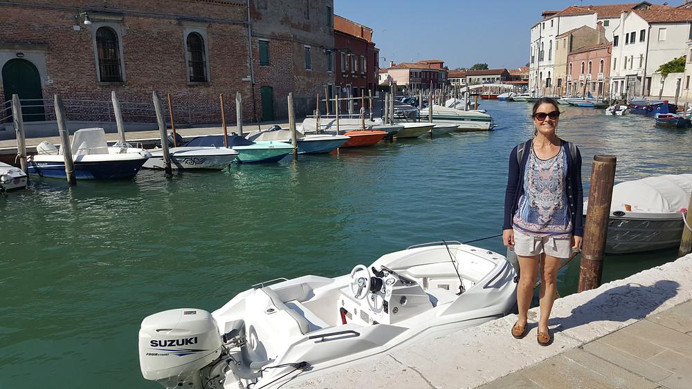 "Saba 50 Catamaran ""Lady Roslyn"". Exploring Murano by boat"