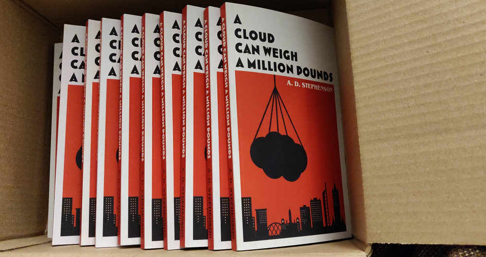 A Cloud Can Weigh a Million Pounds prize box