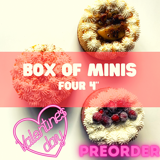 Valentines Day Box of Minis Pre-Order