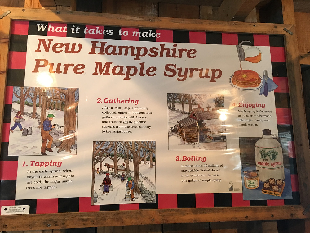 New Hampshire Pure Maple Syrup