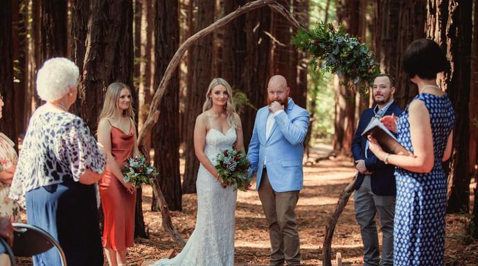Chantelle & James, Redwood Forest in Warburton
