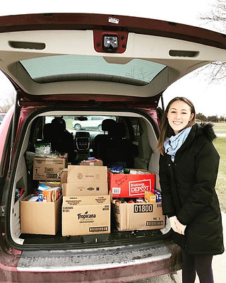 Once again another amazing Food Drive at the Woodslee Community Center.jpg