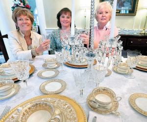 Tablescapes will display vintage tableware to aid medical transport