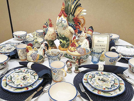 Tablescapes a fundraiser for Faith in Action