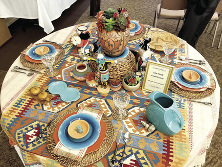 Tablescapes the centerpiece of Faith in Action's fundraising