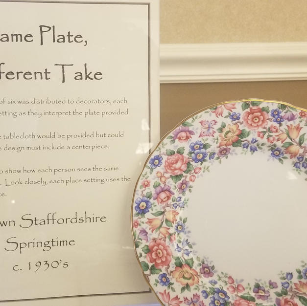 Same Plate, Different Take