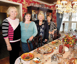 Event shows off fine-dining decorating