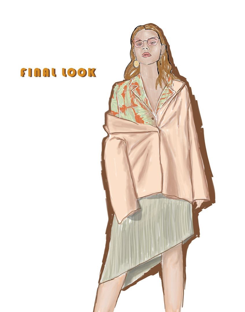 Final garment illustration