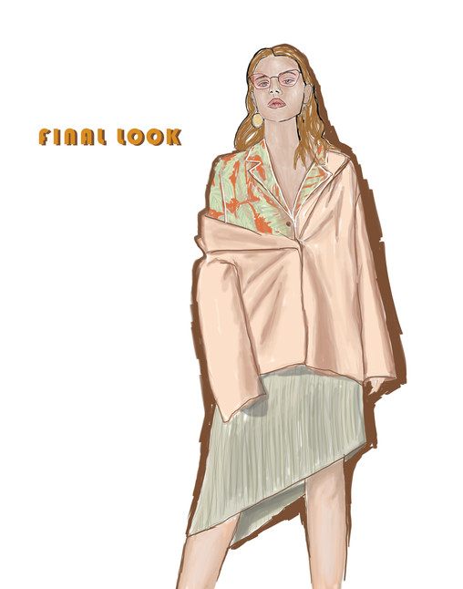 Final garment illustration