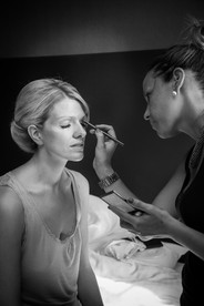 make-up for the bride on her wedding day Abbey House Hotel