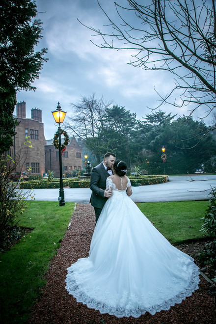Christmas wedding at the Abbey House Hotel