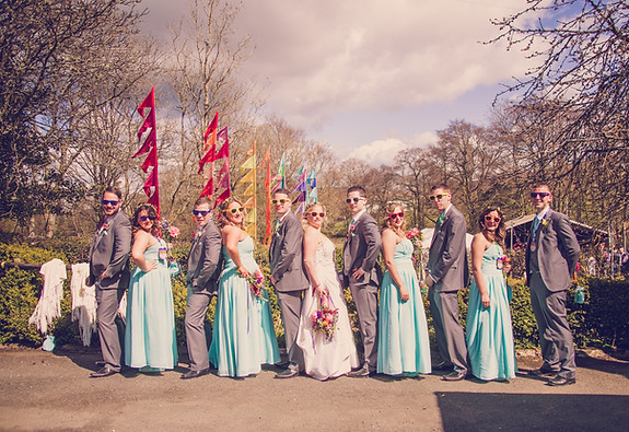 Festival wedding photography watergate