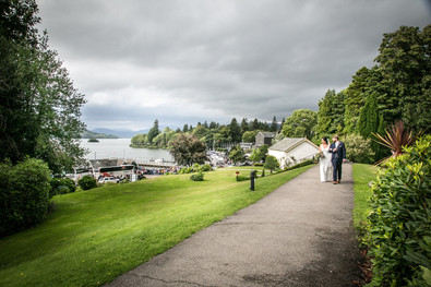 wedding photography at The Belsfield Bowness