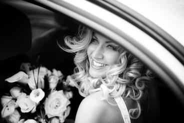 beautiful bride wedding day smile