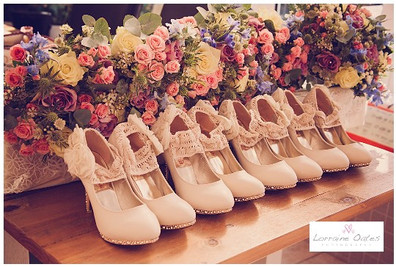 wedding photograph of shoes