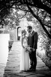 wedding photography black and white image