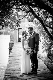 wedding photography black and white image