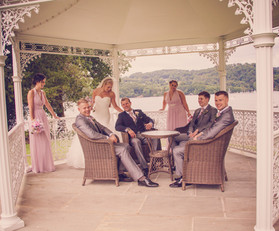 Relaxing with a wedding photographer Storrs hall
